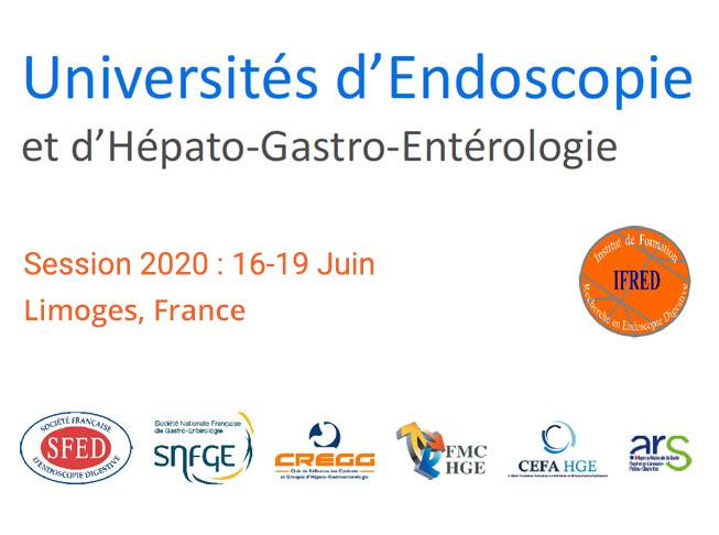 Universités d'Endoscopie et  d'Hépato-Gastro-Entérologie