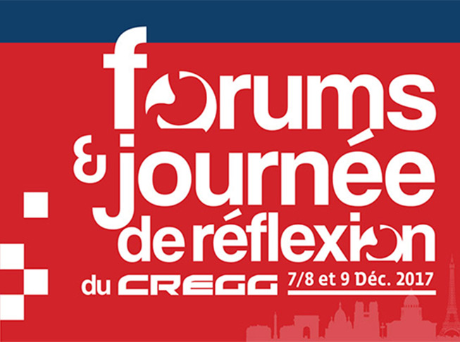 Forums du CREGG 2017